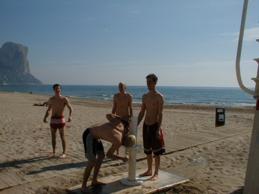 A day at the beach in Calpe